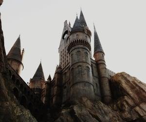 hogwarts, castle, and harry potter image