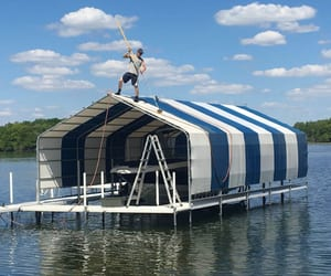 boat, lifts, and installation image