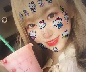 izone, nako, and hello kitty filter image