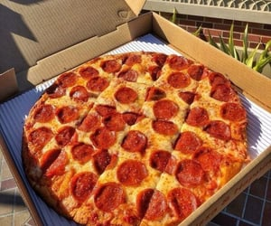 pizza, food, and carefree image