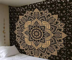 etsy, wall decor, and indian tapestries image