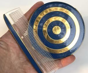 etsy, vintage combs, and art deco compact image