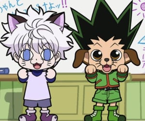anime, killua zoldyck, and hxh image