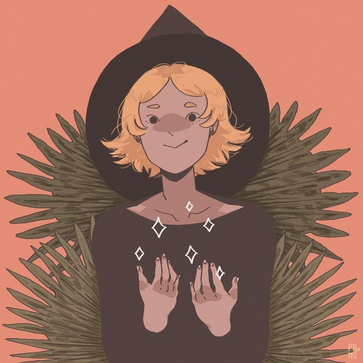 art, illustration, and witch image