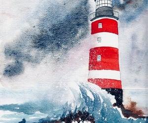 aquarell, art, and nautical image