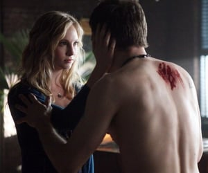 the vampire diaries, joseph morgan, and klaroline image
