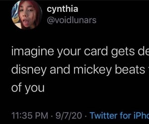 disney, meme, and micky mouse image