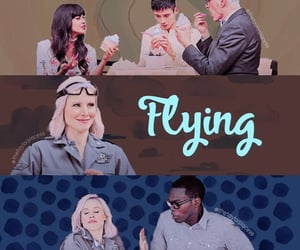 aesthetic, Flying, and series image