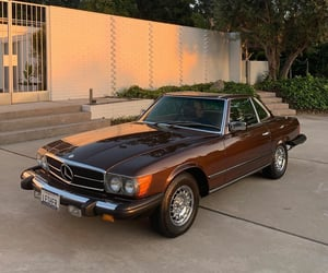 1980s, automobiles, and benz image