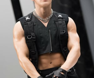 kpop, monstax, and monstax wonho image
