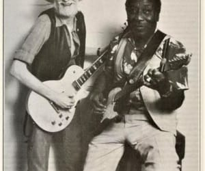 johnny winter, muddy waters, and rock me baby image