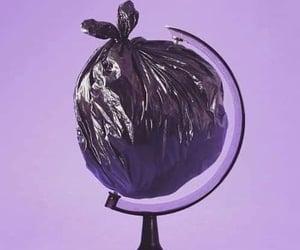 grunge, trash, and world image
