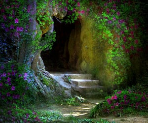 the secret cave, enter if you please, and all awaits you image