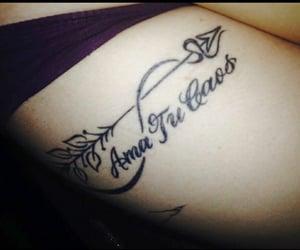 caos, tatuaje, and amar image