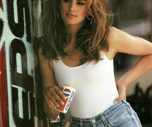 90s, cindy crawford, and beauty image