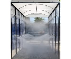 sanitization tunnel and disinfection tunnel image