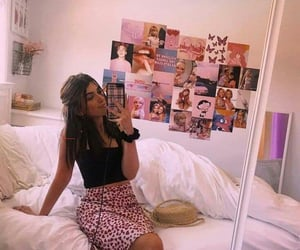 aesthetic, girl, and room image