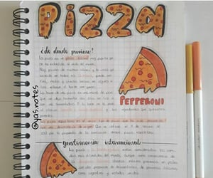 lettering, notes, and study image