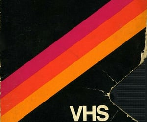 retro, vhs, and wallpaper image