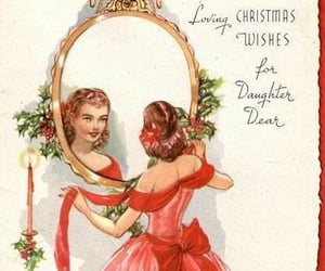 christmas, daughter, and fancy image