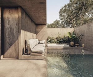 backyard, exterior, and garden image