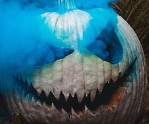 background, Halloween, and blue image