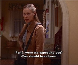 funny, paris, and tv show image