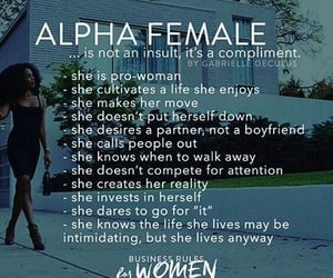 alpha, compliment, and confident image