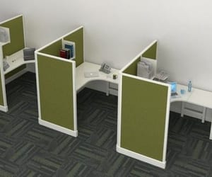 shopping, workstation, and office furniture image
