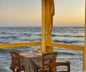ocean, places, and restaurant image
