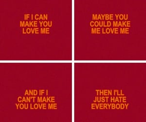 song, hate everybody, and quote image