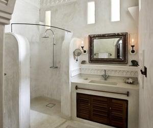 bath, blogger, and decor image