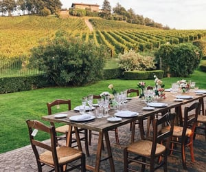 dinner table, events, and italy image