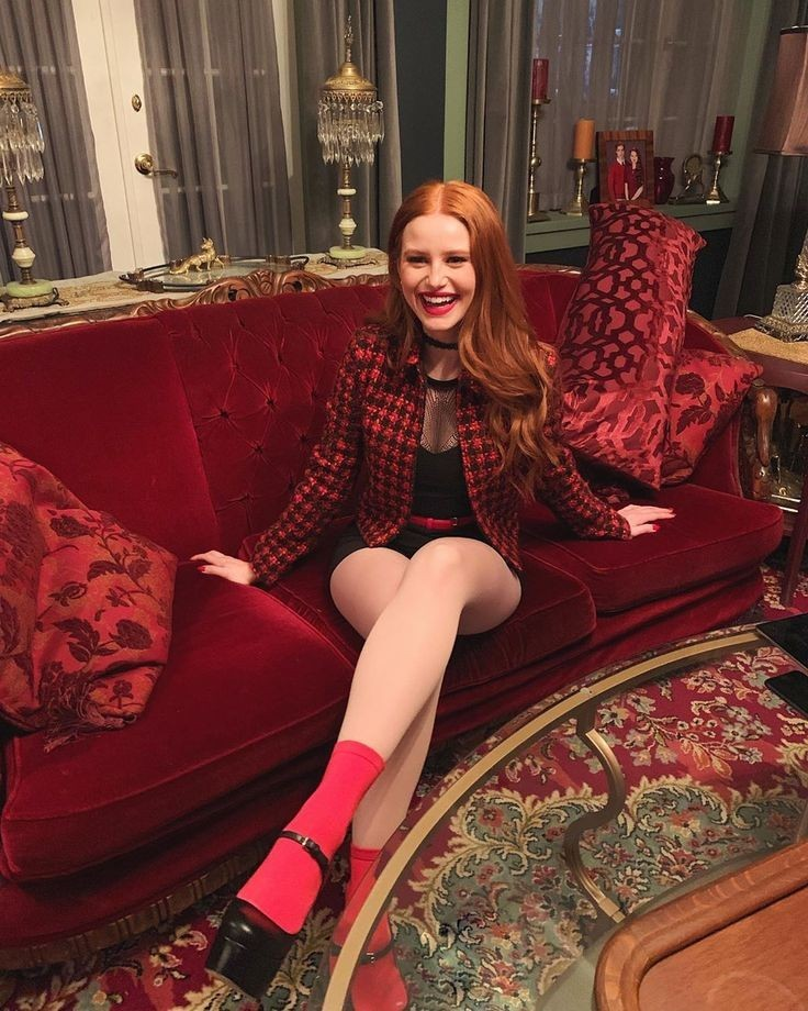 madelainepetsch and riverdale image