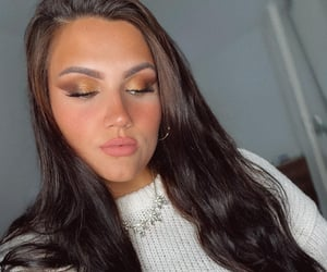 aesthetic, autumn, and make up image