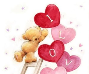 I Love You, together forever, and love image