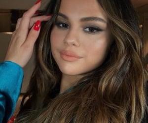 selena gomez, beauty, and makeup image