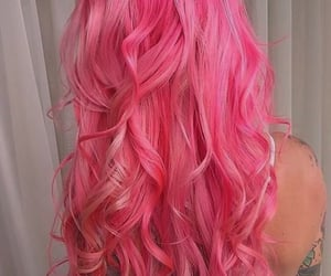 colored hair, flirty, and hair image