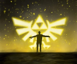 art, top, and triforce image