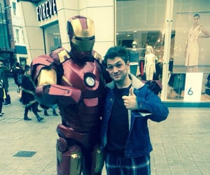 Marvel, rocketman, and iron man image