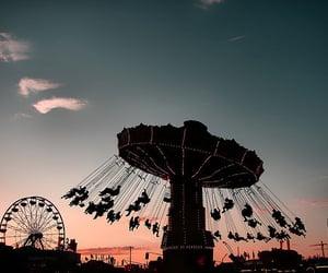carnival, Ferris Wheels, and indie image