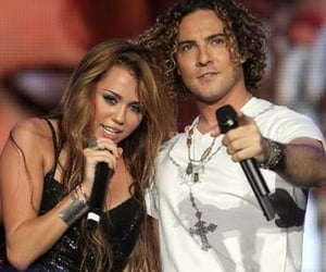 miley cyrus, the last song, and when i look at you image