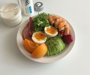 breakfast, aesthetic, and delicious image