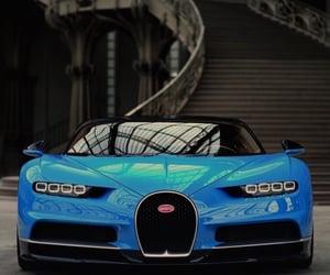 blue, shiny, and cars image