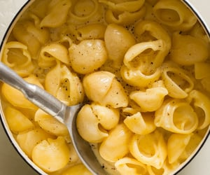 pasta, cheese, and food image