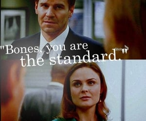 bones, booth, and quote image
