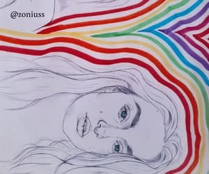 arcoiris, art, and arte image