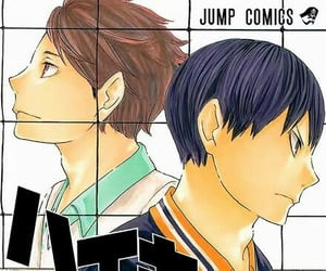color, manga, and haikyuu image