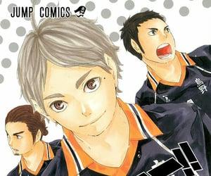 asahi, color, and manga image