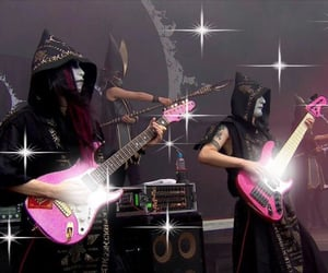 cyber, electric guitar, and goth image